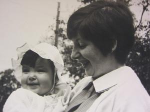 mama en cyntje 1970